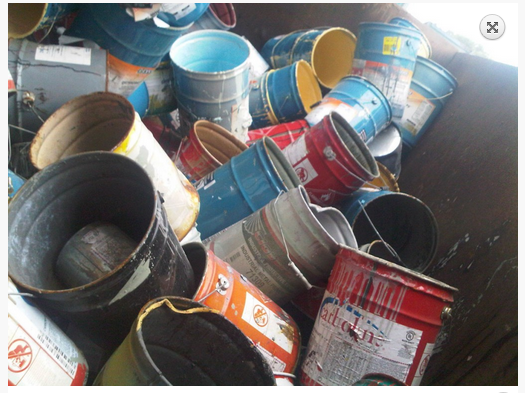Eko environmental google for How to dispose of empty paint cans