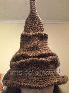 Ravelry free crochet pattern Harry Potter Sorting Hat