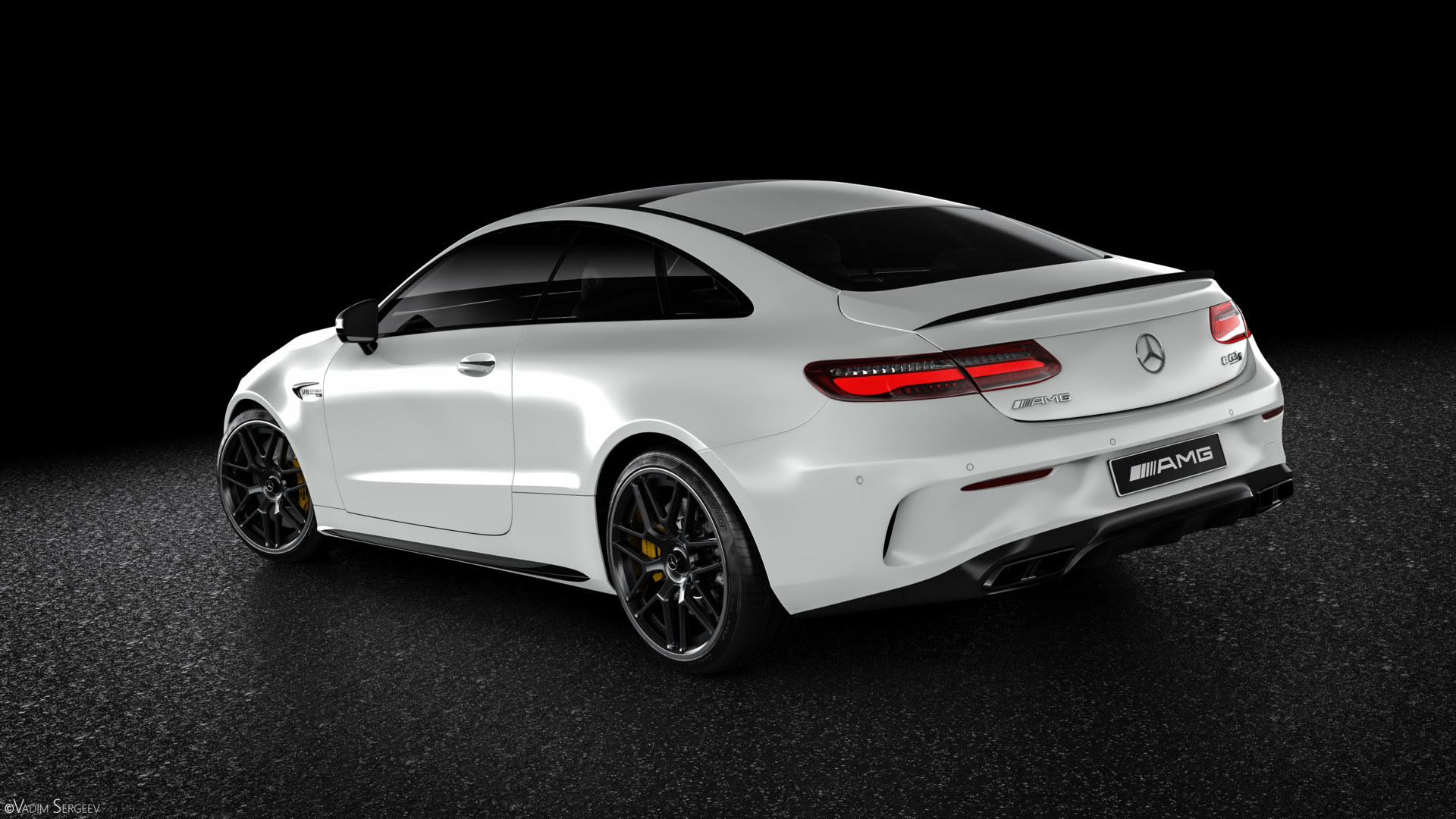 Incredible Mercedes-AMG E63 S Coupe Renderings Show Why It ...