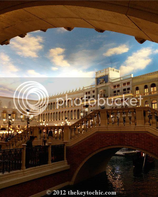 The Venetian canals Las Vegas