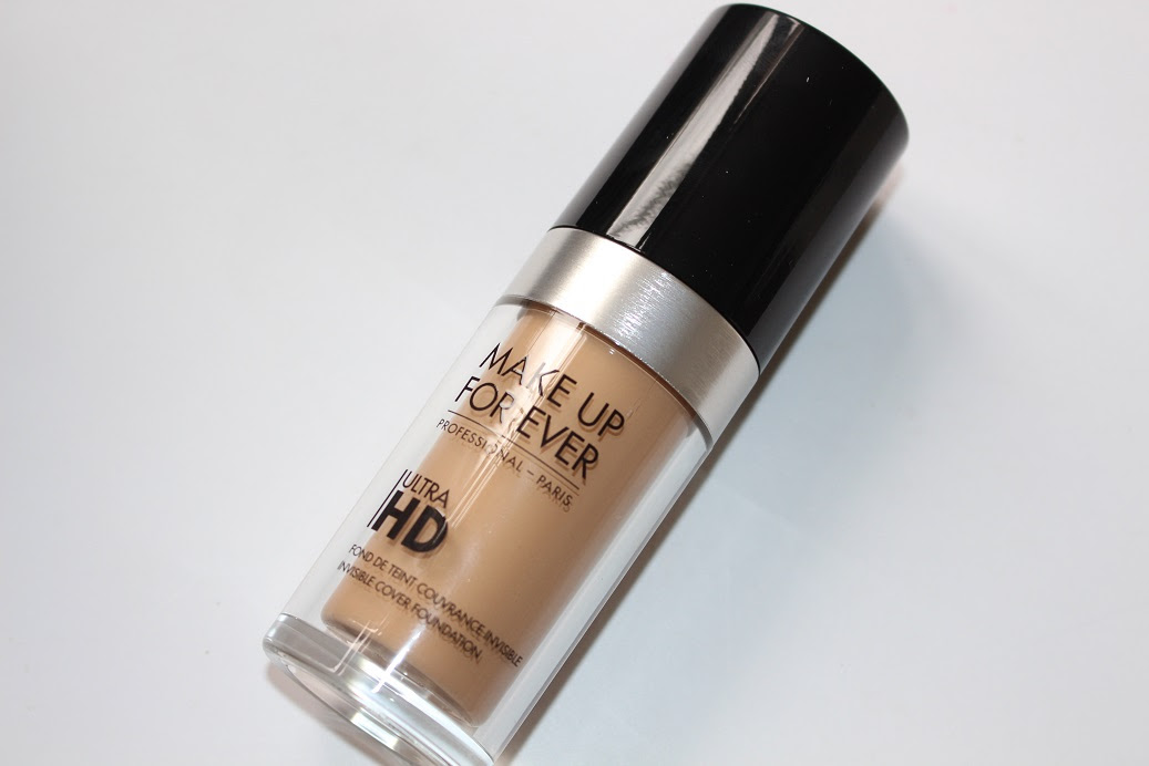 New ultra hd foundation makeup forever