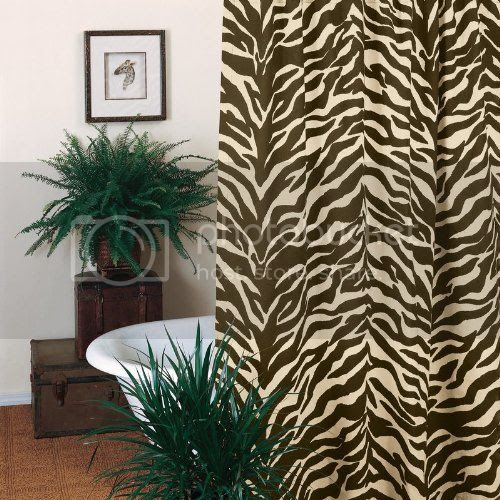 Karin Maki Brown Zebra Shower Curtain Review - The Shoppers Guide