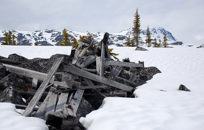 Relics of the gold rush
