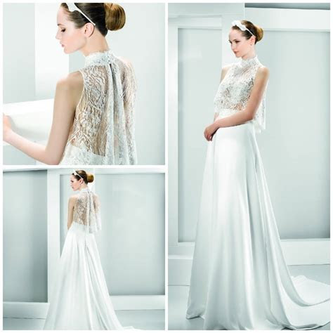 Two piece wedding dresses make their mark   Morgan Davies