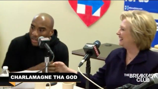 HILLARY PANDERS TO BLACK RADIO HOSTS In Attempt To Tie Herself...