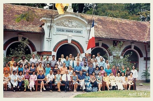 Saigon 1974 - Trường Marie Curie, đường Công Lý