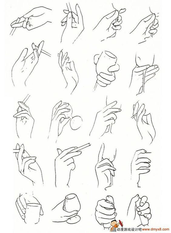 How To Draw Anime Girl Hands : anime, hands, Hands, Anime, Howto, Techno