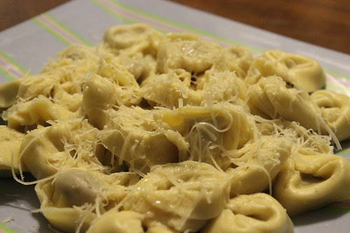 Sweet Italian Suasage Tortellini for Dinner