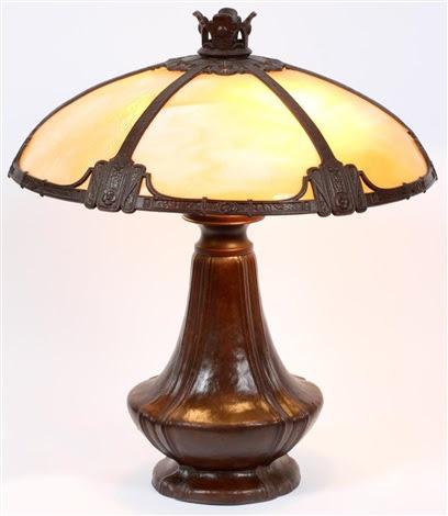 Bradley Hubbard Arts Crafts Table Lamp By Bradley Hubbard Co On Artnet