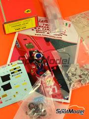 Tameo Kits: Maqueta de coche escala 1/43 - Ferrari 156/85 Agip Marlboro - Michele Alboreto (IT), Stefan Johansson (SE) - Gran Premio de Canada 1985 - maqueta de metal