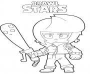 Coloriage Shark Leon Brawl Stars - JeColorie.com