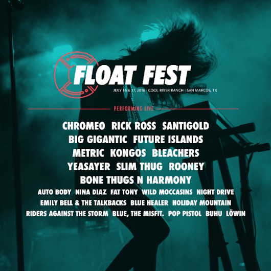 Live music preview: Float Fest returns with Future Islands, Chromeo, Texas acts