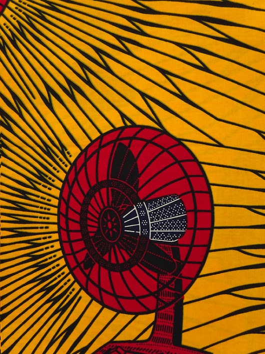 African print fabric sold by yard/ Ankara fabric African