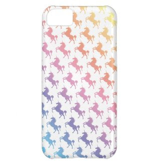 Rainbow Unicorns Case For iPhone 5C
