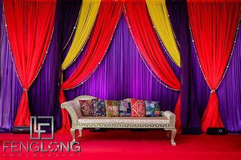 Indian wedding stage, Pithi ceremony, Ismaili Muslim