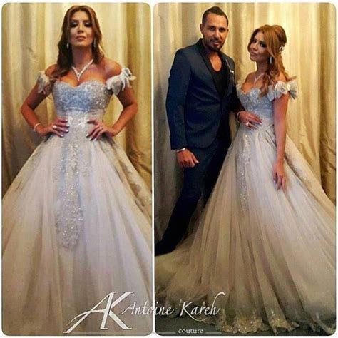 Amal Bouchoucha Gets Married to Walid Awada   Arabia Weddings