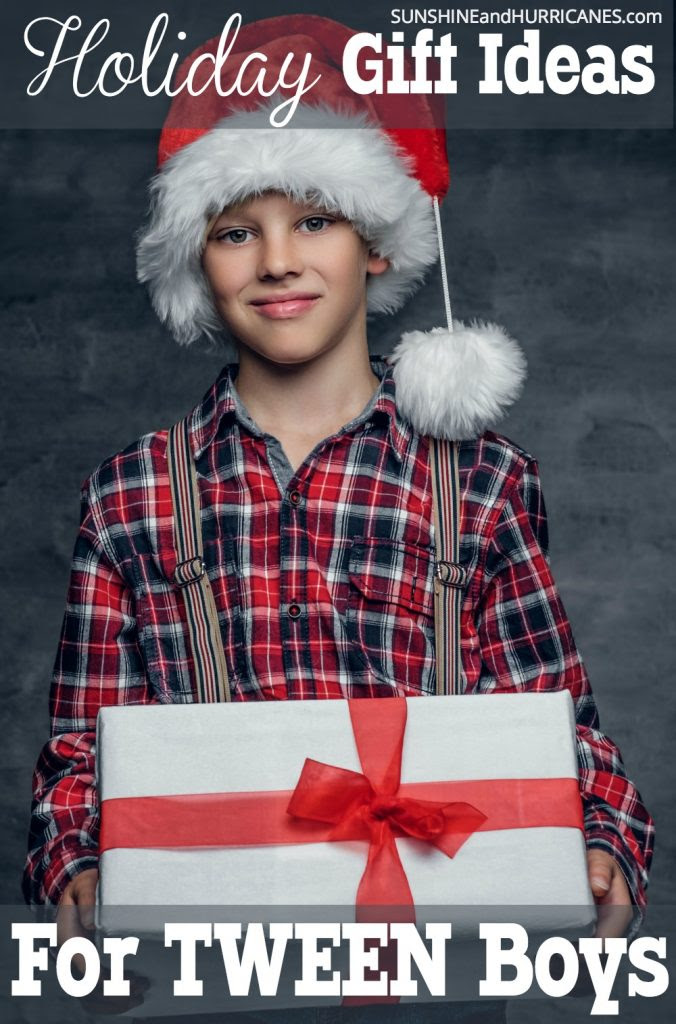 Stockigng Stuffers for Tween Boys - From a Mom of a Tween Boy