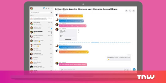Skype's new design is coming to your desktop, whether you like it or not