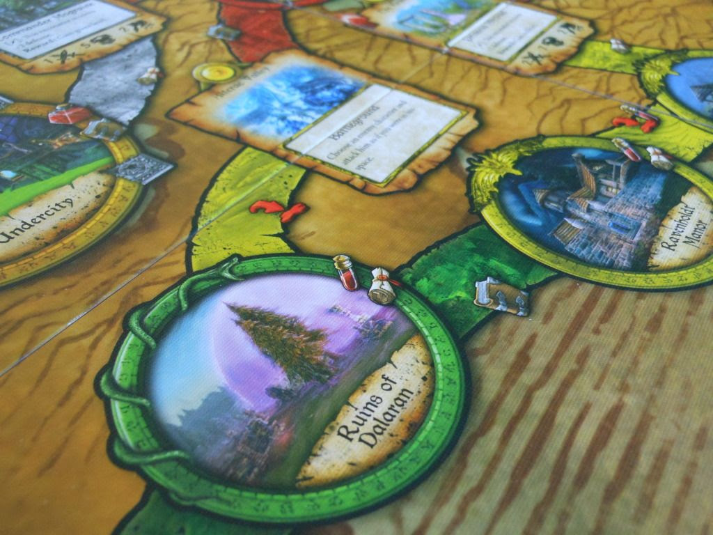 World of Warcraft: The Adventure Game board detail