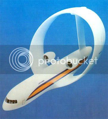 weird aircraft design flying bog seat