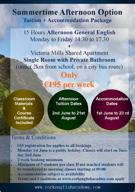 Special Offers - Cork English Academy