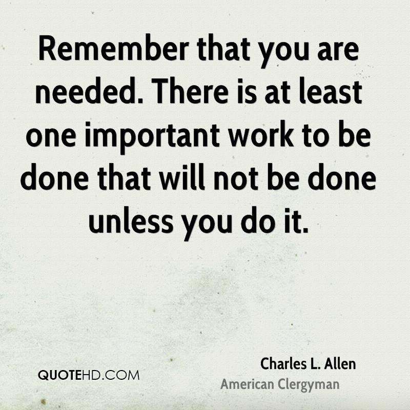 Charles L Allen Quotes Quotehd