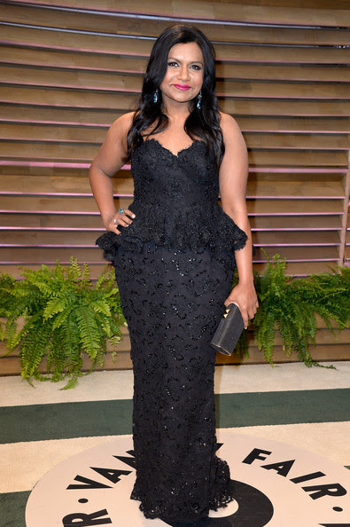 Actress Mindy Kaling attends the 2014 Vanity Fair Oscar Party hosted by Graydon Carter on March 2, 2014 in West Hollywood, California.