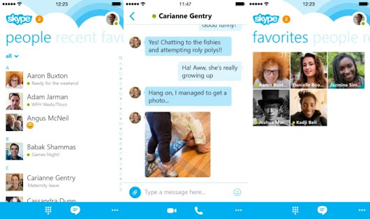 Skype Launches New Design For iPhone - TechBeat