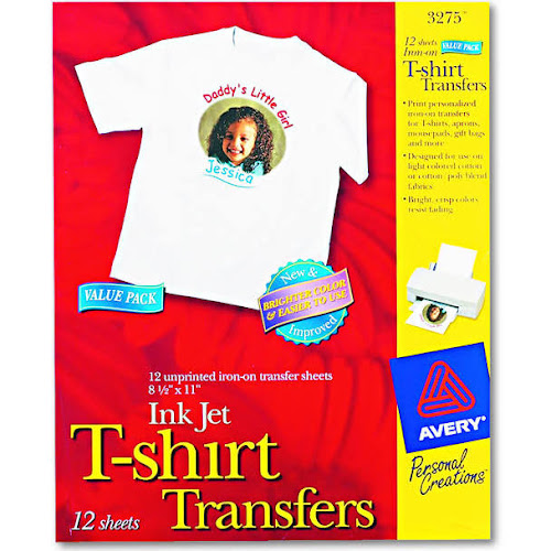 google express avery iron on transfer paper