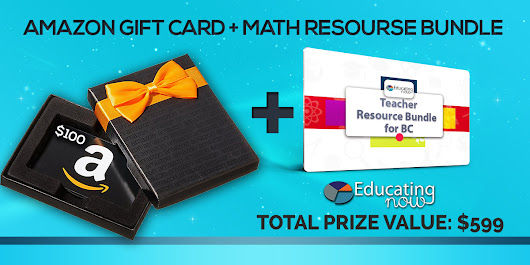 Amazon Gift Card and Free Math Resource Bundle Giveaweay