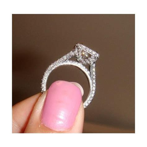 SIDE VIEW OF YOUR HALO E RINGS! PIC HEAVY Weddingbee