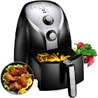 Comfee 1500W Multi Function Electric Hot Air Fryer with 2.6 Qt. Removable Dishwasher