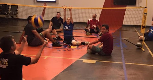 ASRA's Sitting Volleyball program #AdaptiveSports #MissMissionBeach | Adaptive Sports Quotes & News | Pinterest