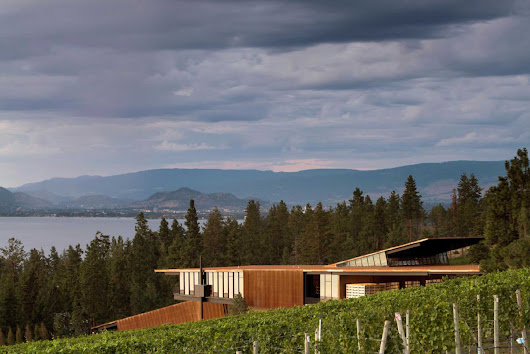 Martin's Lane Winery: When Wine, Gravity And Architecture Collide