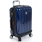 Delsey Helium Aero International Carry on Expandable Spinner Blue