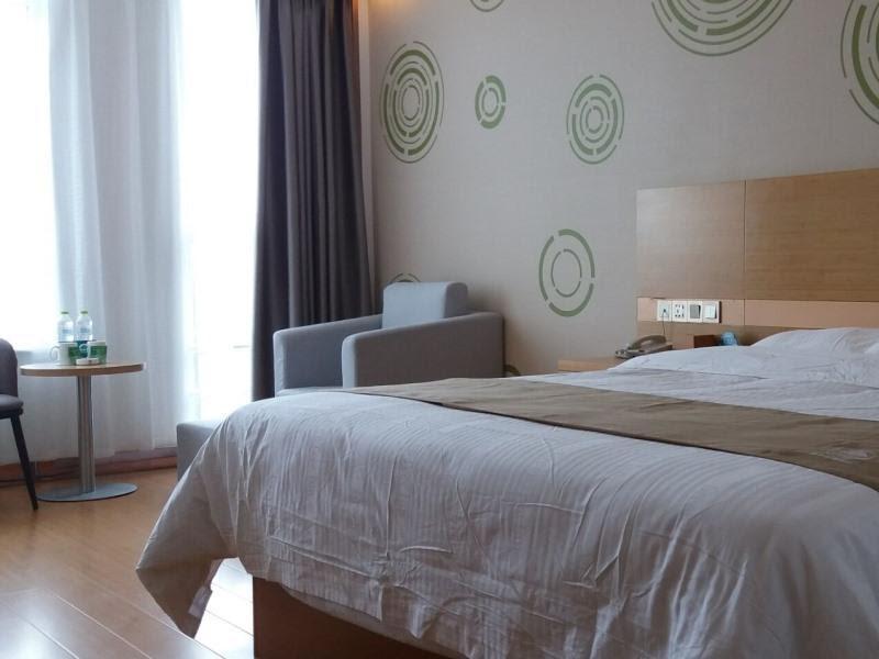 GreenTree Inn Shandong Heze Caoxian Zhuangzhai Town Oriental Times City Business Hotel Discount