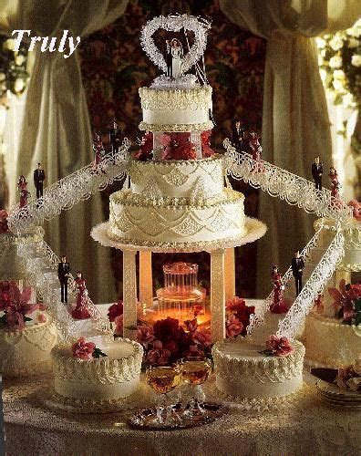 29 best Wilton wedding cakes with stairs and fountains