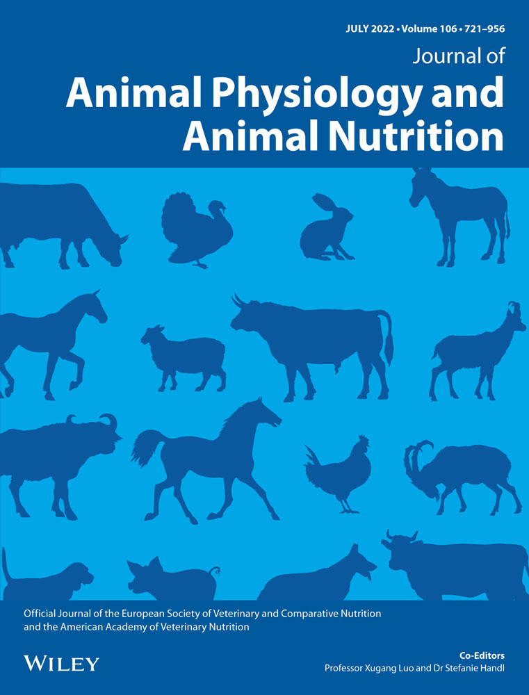 Journal of Animal Physiology and Animal Nutrition