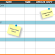 Free Template: Social Media Publishing Schedule