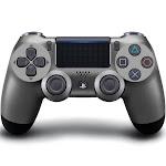Sony Playstation 4 Dualshock 4 Wireless Controller - Steel Black