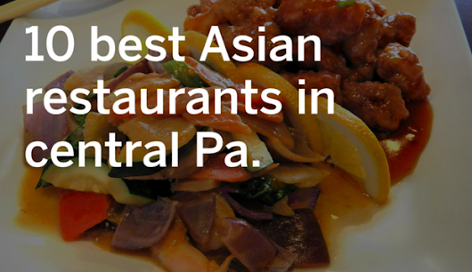 When you're not in the mood for a roast, check out one of these 10 stellar Asian Eateries