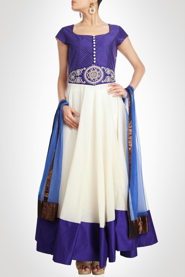 Anarkali-Ankle-Length-New-Fashion-Frock-Suits-by-Designer-Charu-Parashar's-Girls-Outfits-