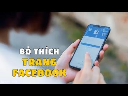 Hướng dẫn bỏ thích Trang hàng loạt trên Facebook