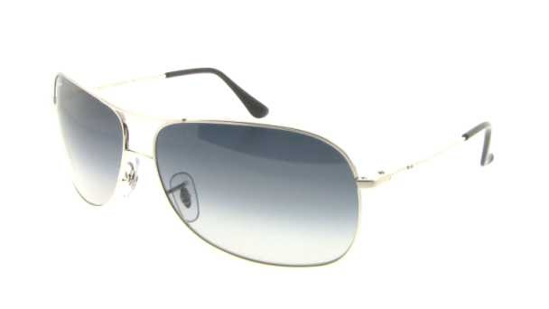92a2e86bd9 Ray Ban RB3267 Sunglasses - 003 8G Silver (Gray Gradient Lens) - 64mm
