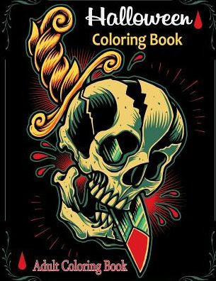 820 Halloween Coloring Book For Adults Free