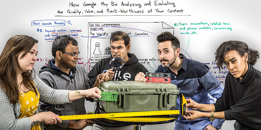 How Google May Analyze and Evaluate the Quality, Value, & Rank-Worthiness of Your Content - Whiteboard Friday