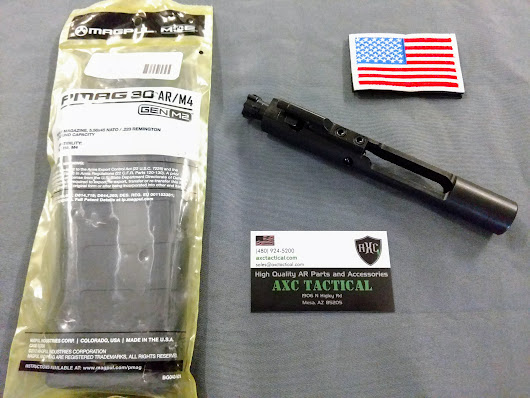 AXC NITRIDE BCG AND MAGPUL PMAG 30 GIVEAWAY