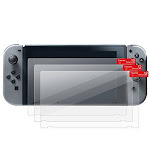 Insten 3-Pack Screen Protector Full Coverage Protection for Nintendo Switch Clear