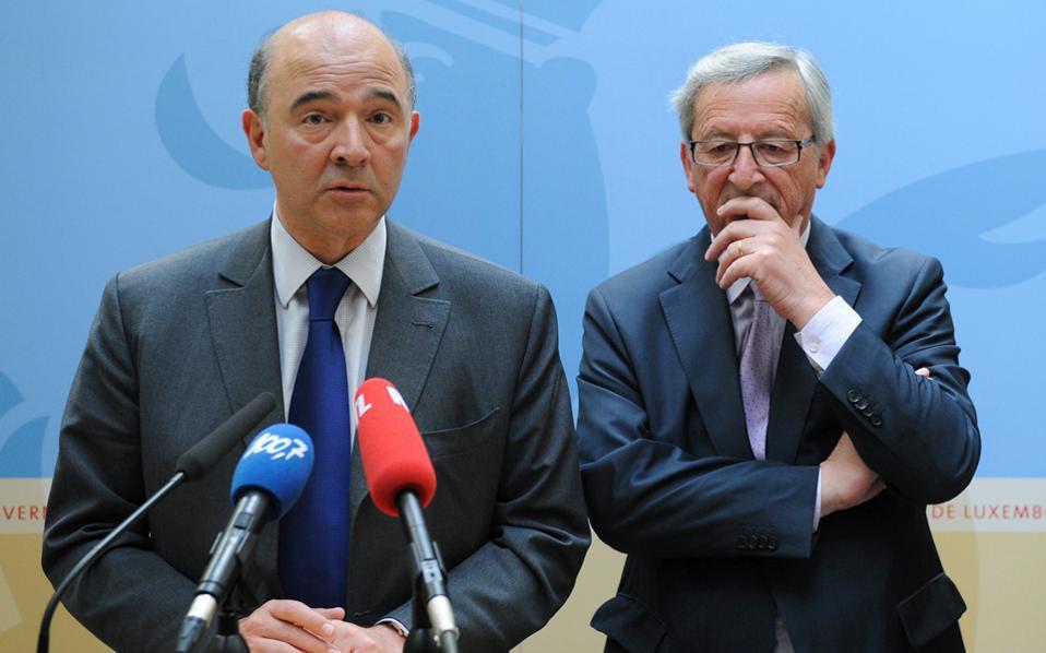 Η απάντηση του κ. Μοσκοβισί, κατόπιν εντολής του κ. Γιούνκερ, για το Plan B της Ελλάδας είναι κόλαφος: η δημοσιοποίησή του θα απειλούσε «τη χρηματοπιστωτική, νομισματική και οικονομική κατάσταση άλλων κρατών-μελών της Ευρωζώνης ατομικά, αλλά και την Ευρωζώνη συνολικά».