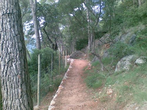 Path between Soller and Port de Soller